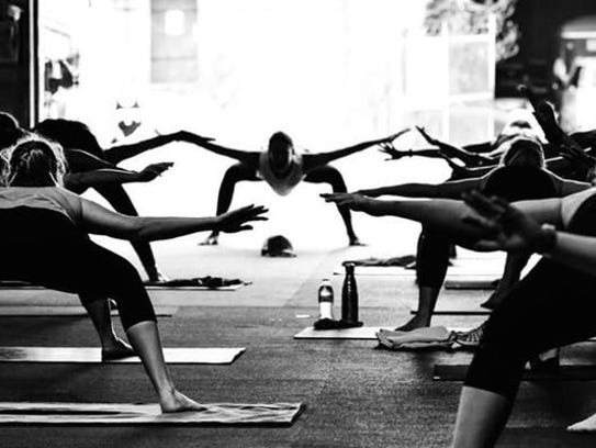 Hustle and Flow Yoga is Saturday.