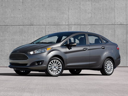 2014 Ford Fiesta 4dr