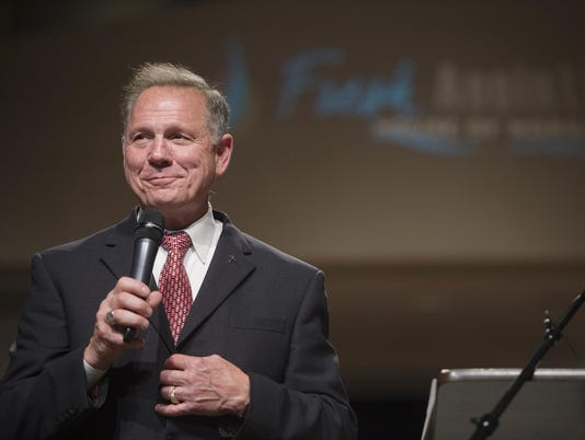 Roy Moore Anti-Abortion Prayer Service