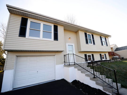 The Dover Township Fire Department bought this home last month and had firefighters and contractors work on it. The home is now for sale for $159,900 and, if sold, proceeds will benefit the department.