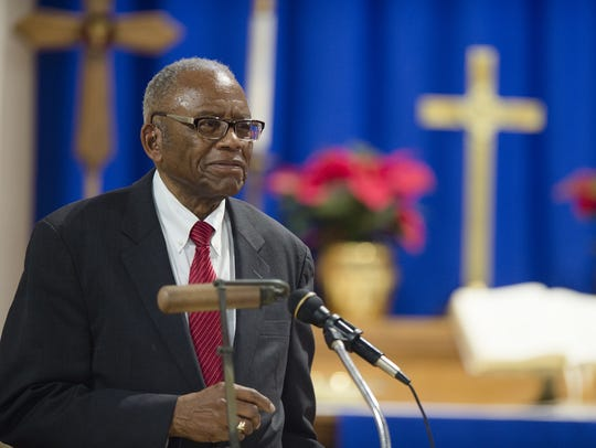 Fred Gray, Rosa Parks former lawyer, speaks on during