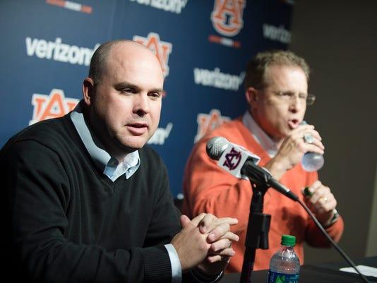 Auburn Offensive Coordinator Chip Lindsey