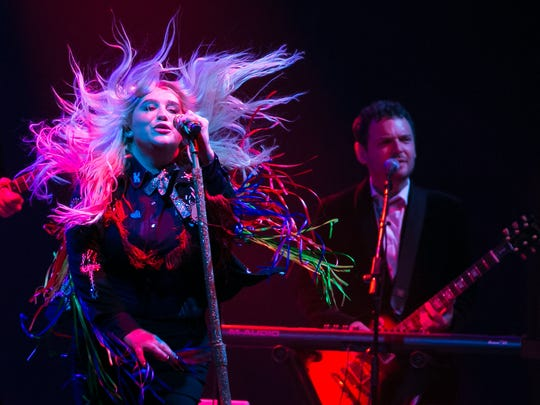 Kesha performs at the Lawn Stage at Firefly Music Festival in June.