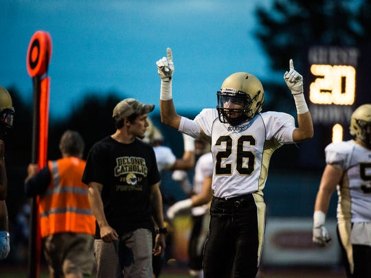 Delone's Ryan Malinowski returns at wide receiver and defensive back for the Squires.