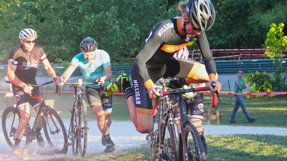 The Asheville Mountain Sports Festival kicks off three days of outdoor sporting competition with the Cyclo-Cross race May 26 at Carrier Park.