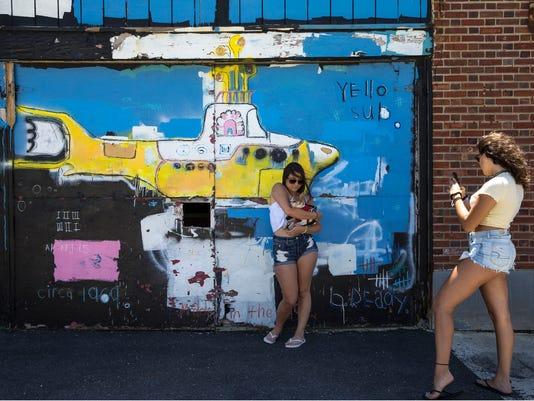 Asbury Boardwalk Murals
