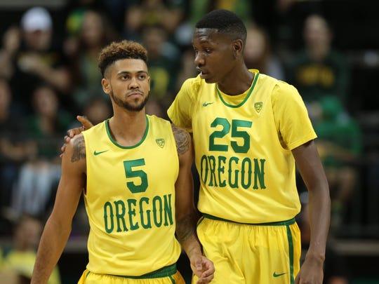 premium selection 64bb5 78980 Basketball gives Oregon's Chris Boucher a shot at life