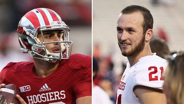 IU's QB competition figures to be a two-horse race between Zander Diamont (left) and Richard Lagow (right).