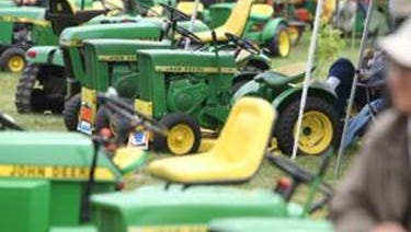 "The show sponsored by John Deere Horicon Works and ""Lawn & Garden Tractor Magazine"" will feature a wealth of exhibits including rare and collectible pieces and memorabilia displays, swap meet and a daily parade of tractors."