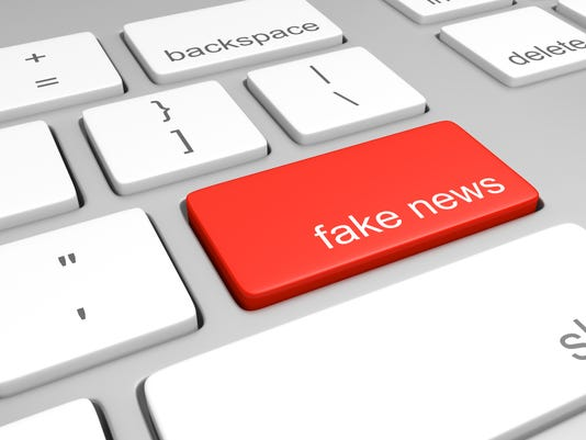 Fake News Stock image