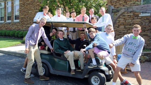 The Christ School golf team.