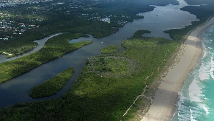 Vero, Stuart, Sebastian, Fort Pierce, Florida beach water quality for enteric bacteria