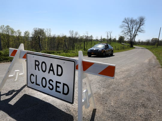 A Warren County deputy is stationed on Union Road at