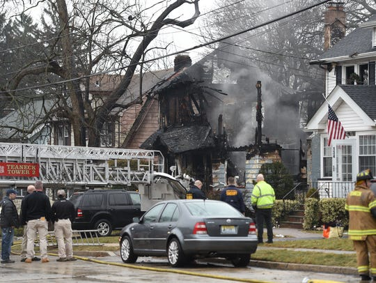 A body was recovered after an early-morning fire destroyed