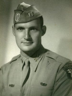 Army Capt. William Paty in 1945.