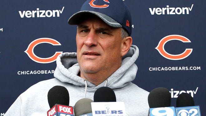 Chicago Bears defensive coordinator Vic Fangio is considered a potential head-coaching candidate.