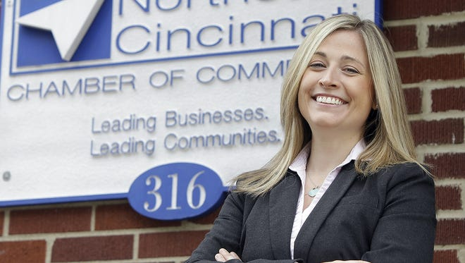 Sherry Taylor, president and CEO of the Northeast Cincinnati Chamber of Commerce, which plans to officially rebrand itself as the Mason-Deerfield Chamber at its May 21 annual lunch.