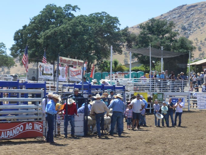 The 2018 Woodlake Rodeo.