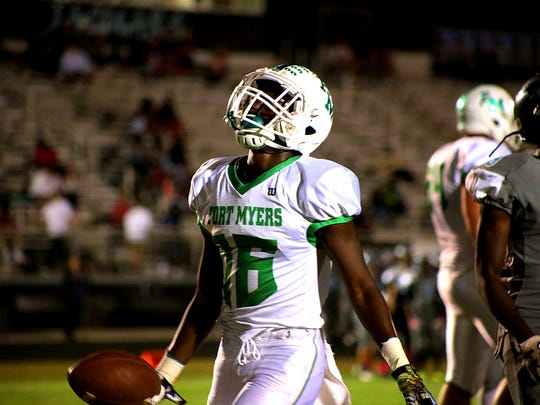 Fort Myers senior running back Yasias Young will be a player to watch when the Green Wave host Bonita Springa and Lake Wales in a spring game on Friday.