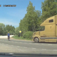 Must Click Video! Man On Bike Survives Being Hit By Truck