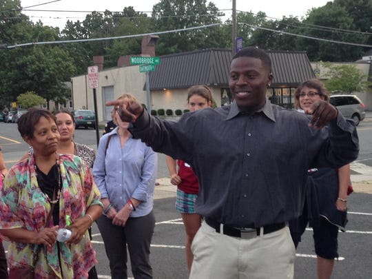 Ashton Burrell, the 22-year-old founder of the Highland Park-based youth group Life in Vision of Evolution youth mentorship group, organized a march and rally in solidarity with residents of Fergusion, Mo., who have exercised civil disobedience in the wake of a police killing of an unarmed black man.
