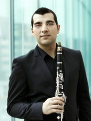 Clarinetist Narek Arutyunian will be among the featured