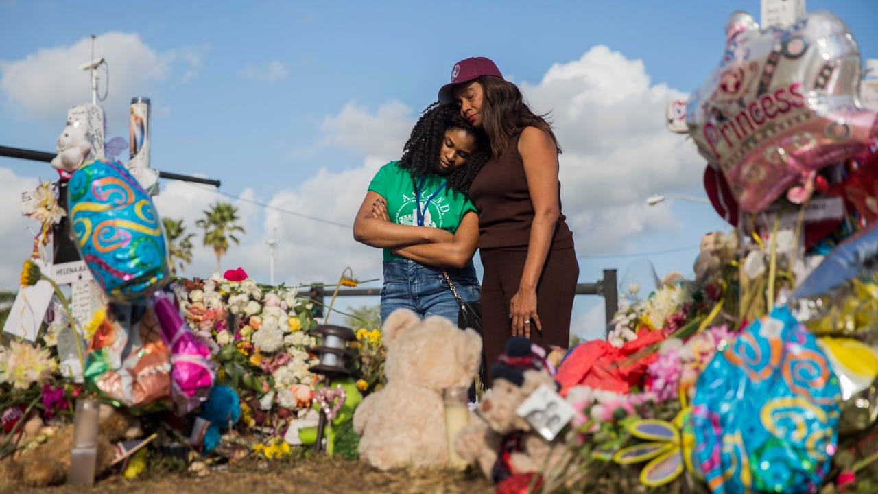 Mei-Ling Ho-Shing, 17, speaks about her experience inside of the building at Marjory Stoneman Douglas High School where the shooting that left 17 students and teachers dead occurred on Wednesday, Feb. 14, 2018.