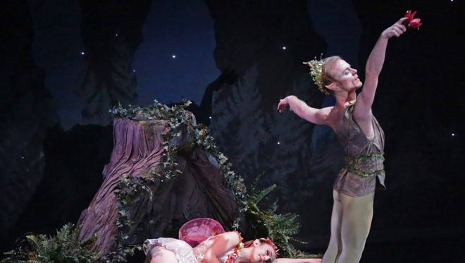 """The Theatre at Raritan Valley Community College in Branchburg will present American Repertory Ballet in """"A Midsummer Night's Dream"""" on March 19."""