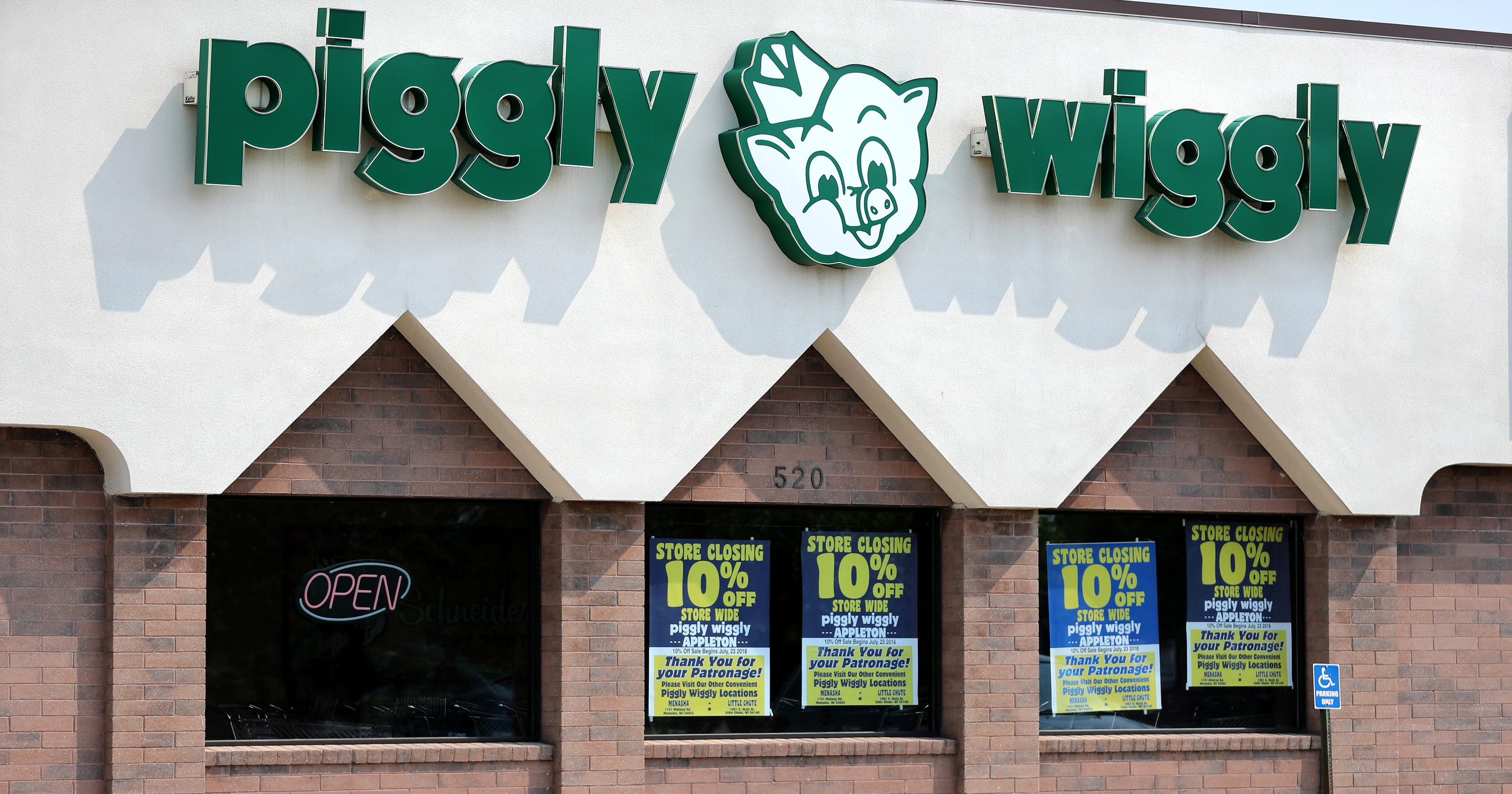 piggly wiggly in appleton to close the buzz