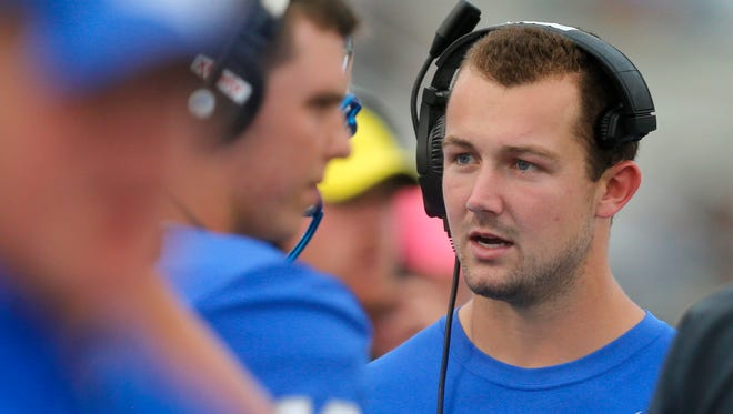MTSU quarterback Brent Stockstill was injured against Syracuse and missed six games this season.
