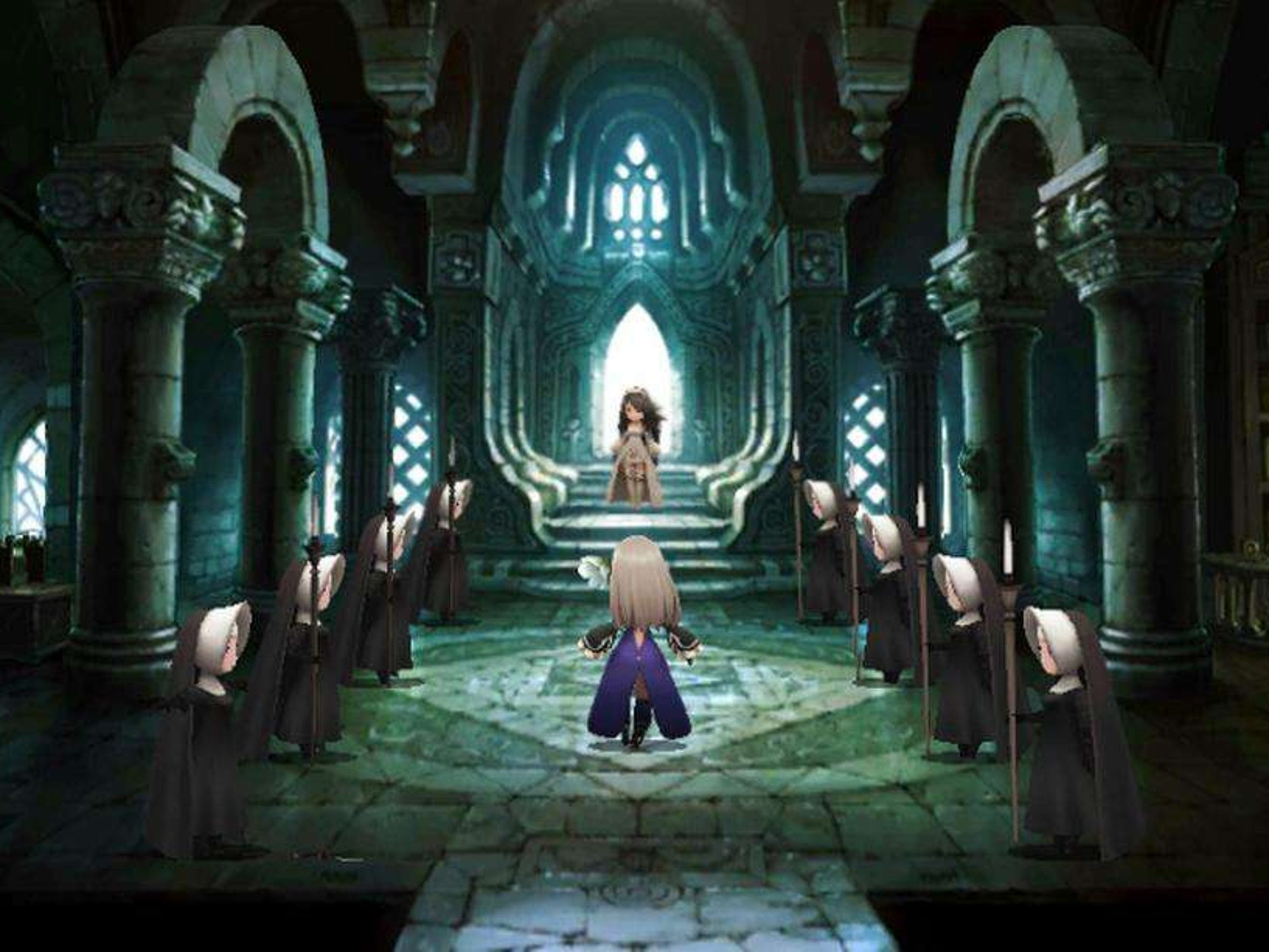"""Bravely Second: End Layer,"" features a style that"