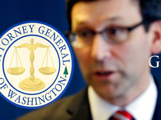 FILE —Washington State Attorney General Bob Ferguson in March 2017.