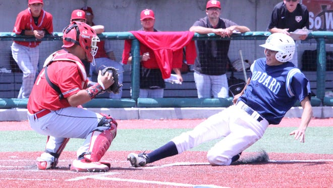 Centennial defeated Goddard 5-4 in the Class 5A state championship game on Saturday in Albuquerque.