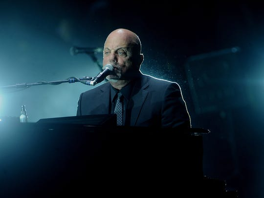 Billy Joel performs at Madison Square Garden on Dec.