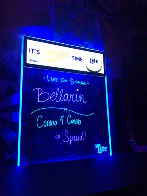 New band Bellarin performed at Livehouse in Tumon on