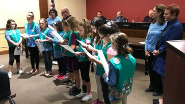 Pompton Lakes' Girl Scouts recruited by Mallory's Army anti-bullying foundation