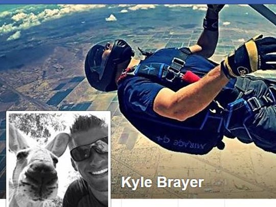 A Facebook photo shows Kyle Brayer, a Tempe fire captain who died in a road altercation in Scottsdale on Feb. 4, 2018, police said.