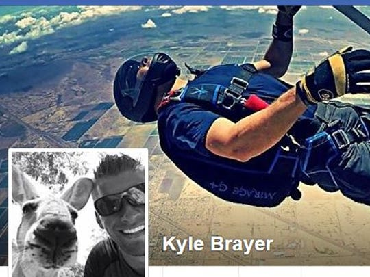 This image from Facebook shows Tempe Fire Capt. Kyle