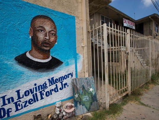 AP LOS ANGELES POLICE SHOOTING A USA CA