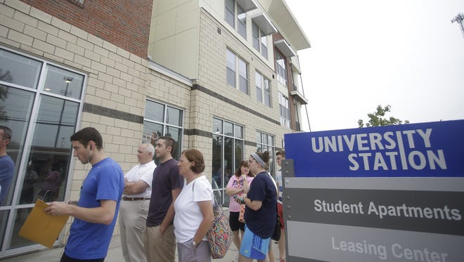 Messer Construction and the Ackermann Group lead the development of University Station, which had its first residents move in to apartments on Friday. The $54 million first phase of the mixed use development was the first development project Messer participated in in about a decade.