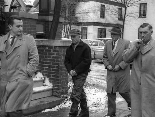 Ed Gein's arrest in November 1957.