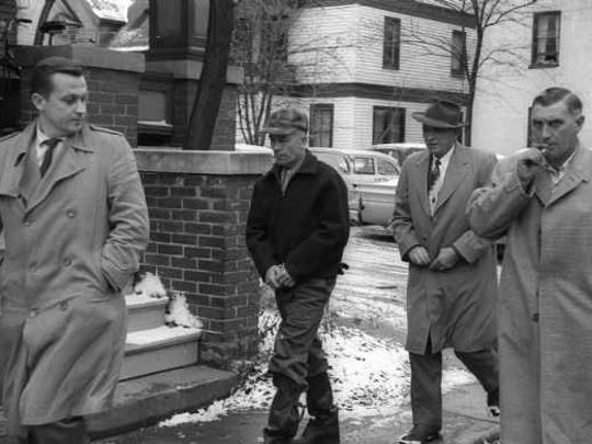 Ed Gein's arrest in November 1957.