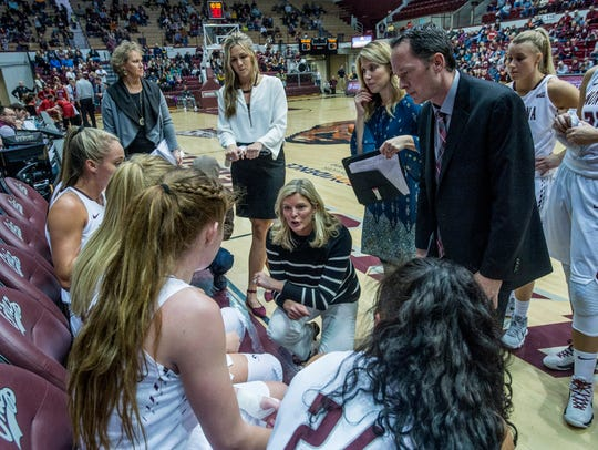 Montana Lady Griz head coach Shannon Schweyen talks