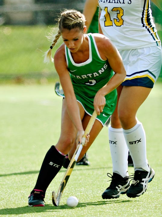 York College vs St. Mary's field hockey