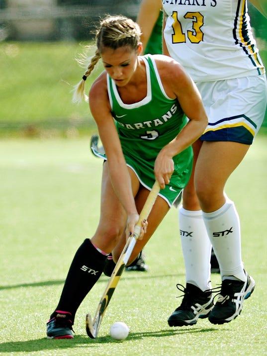 York College vs St. Mary's field hockey