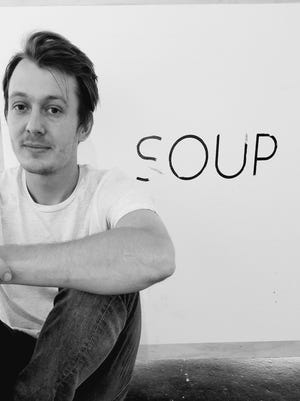 Ashton Bird, founder and owner of SOUP Experimental in Railroad Square
