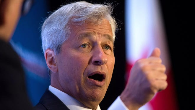 Jamie Dimon, CEO of JPMorgan Chase and chairman of the Business Roundtable, says the prospect of Federal Reserve interest rate hikes should not hurt the economy or business confidence.