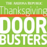The Arizona Republic. Look for the Thanksgiving edition.