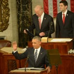 State of the Union Address on Jan. 12, 2016.