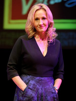 Author J.K. Rowling at the Queen Elizabeth Hall on Sept. 27, 2012 in London.
